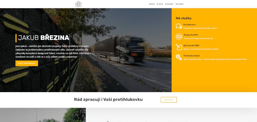 JAKUB BŘEZINA - protihlukovky.cz