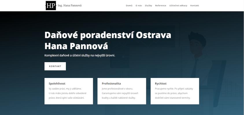 Daňové poradenství Ostrava Hana Pannová