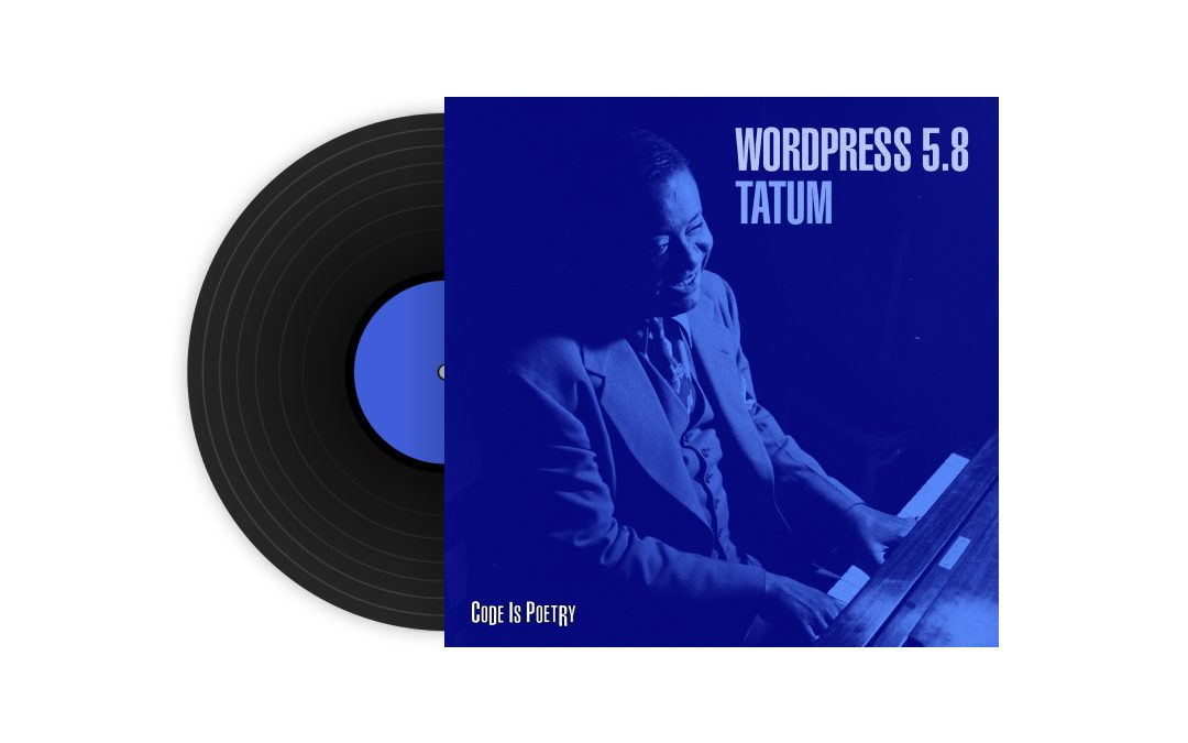 "Nová verze WordPress 5.8 ""Tatum"""